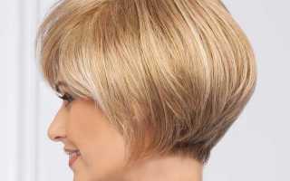 Варианты стрижки боб для коротких волос: фото