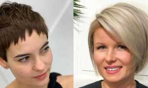 Короткие стрижки для женщин с круглым лицом
