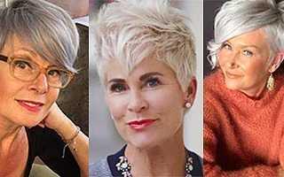 Кому подходит стрижка Гарсон на короткие волосы для женщин за 50 лет