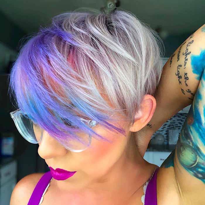 пикси на цветные волосы