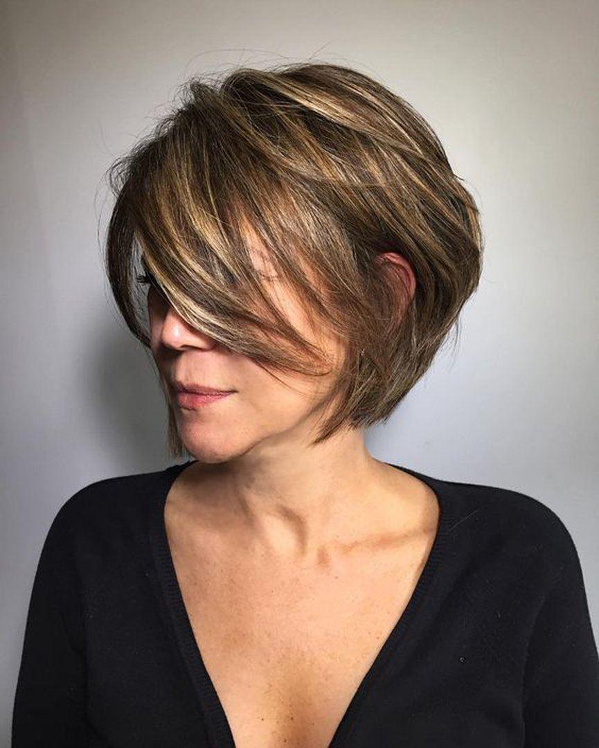 Стрижка на короткие и тонкие волосы