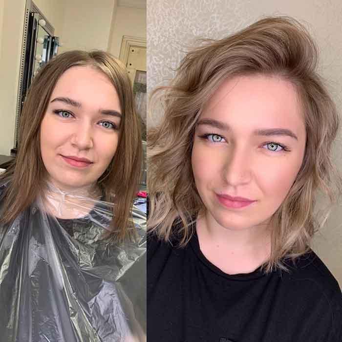 Укладка для объема тонких волос