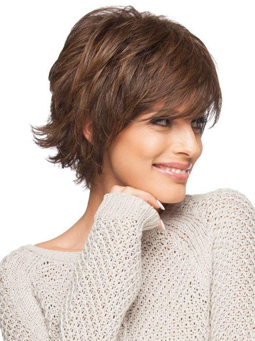 Стрижка Итальянка на короткие тонкие волосы