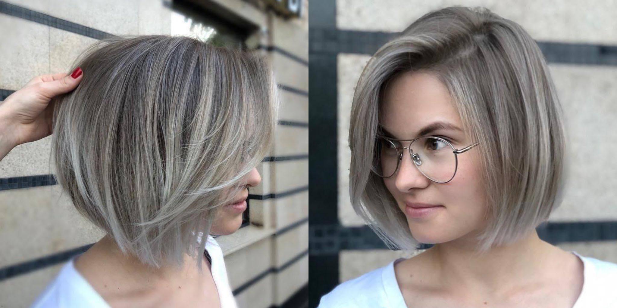 стрижка каре для ровных волос