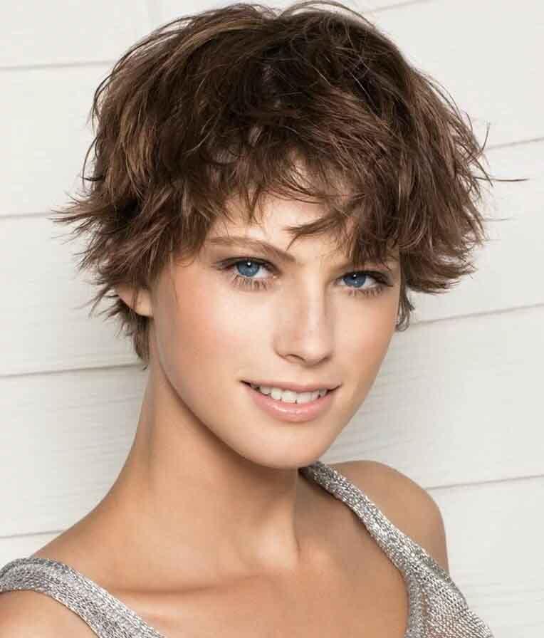 стрижка каприз на волнистые волосы