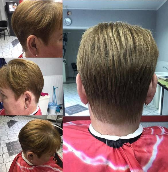 Гарсон на тонкие волосы
