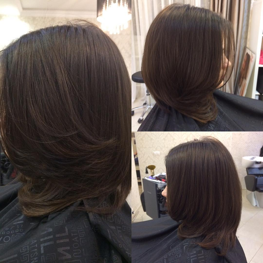 Стрижка деюбют на короткие волосы