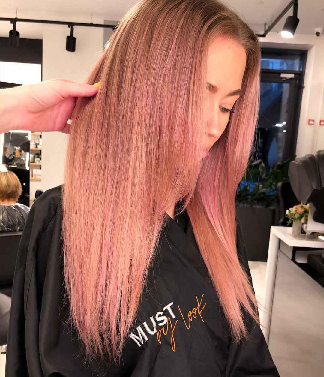 красивая стрижка лесенка на средние волосы