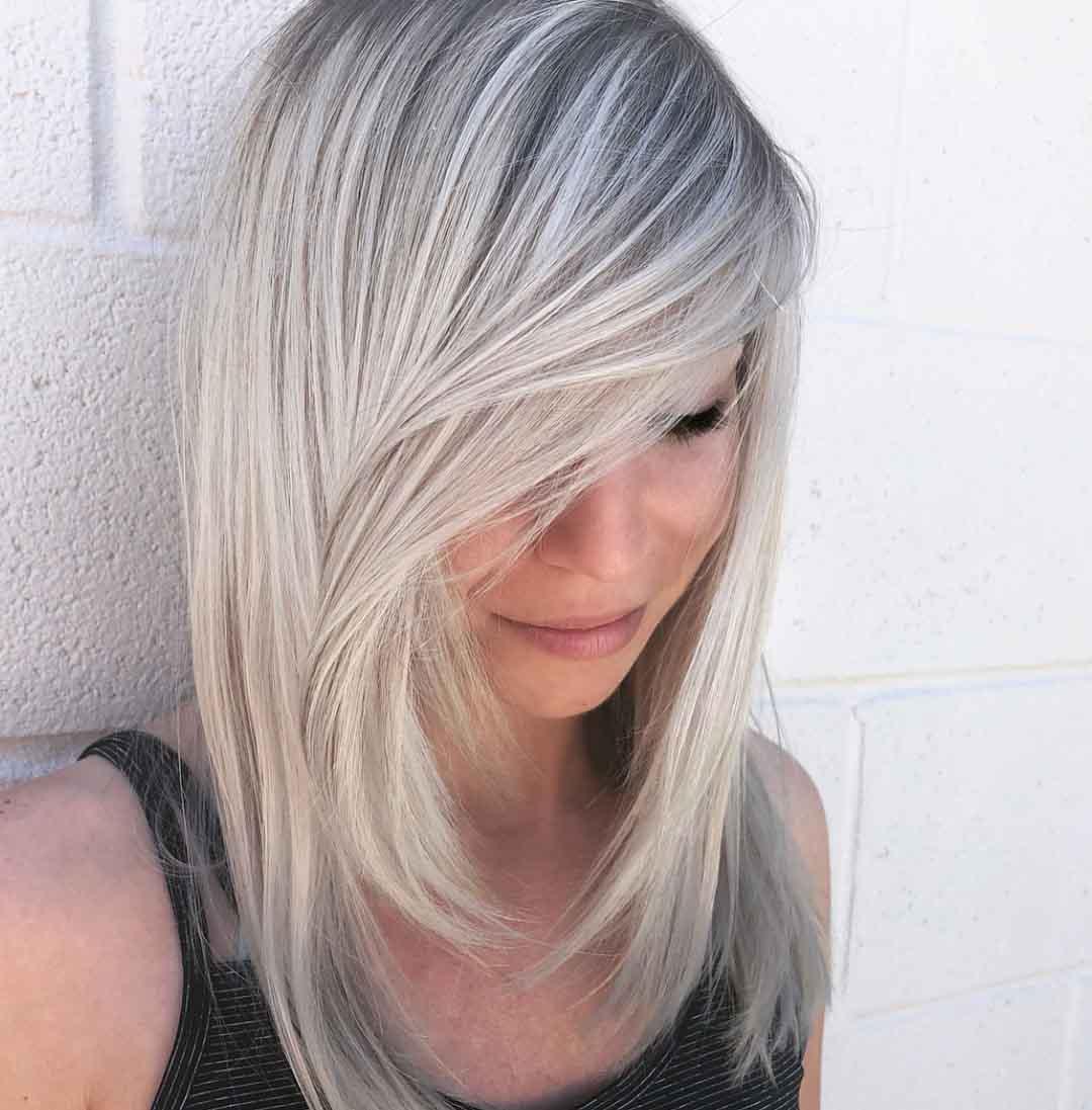 стрижки на средние +и тонкие волосы лесенкой
