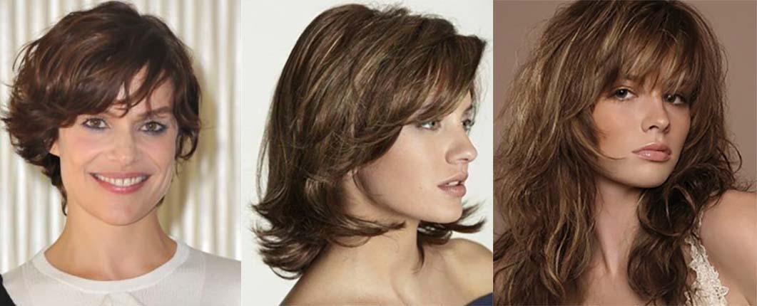 Стрижка итальянка на короткие, средние, длинные волосы
