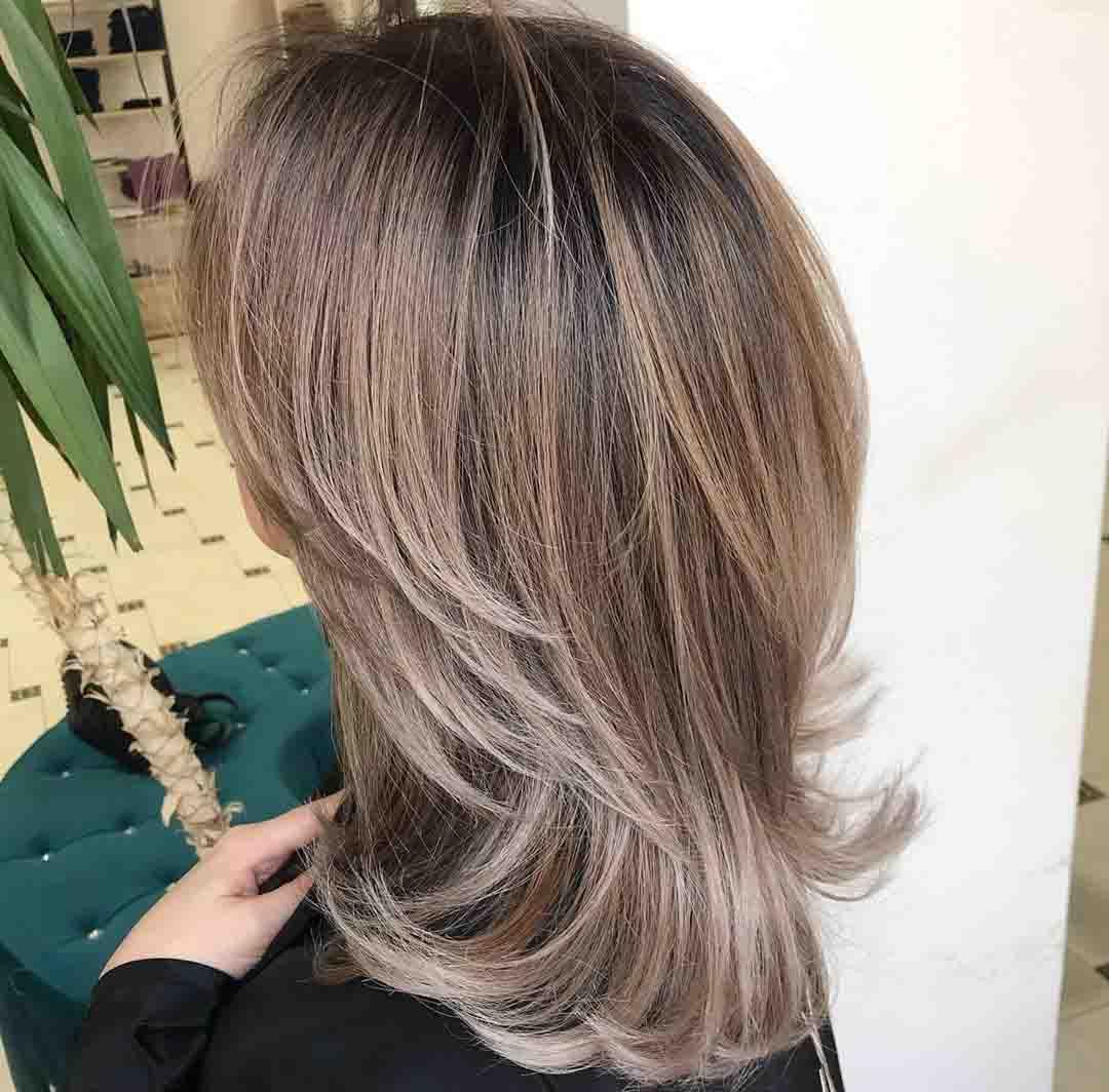 Итальянка на средние волосы вид сзади