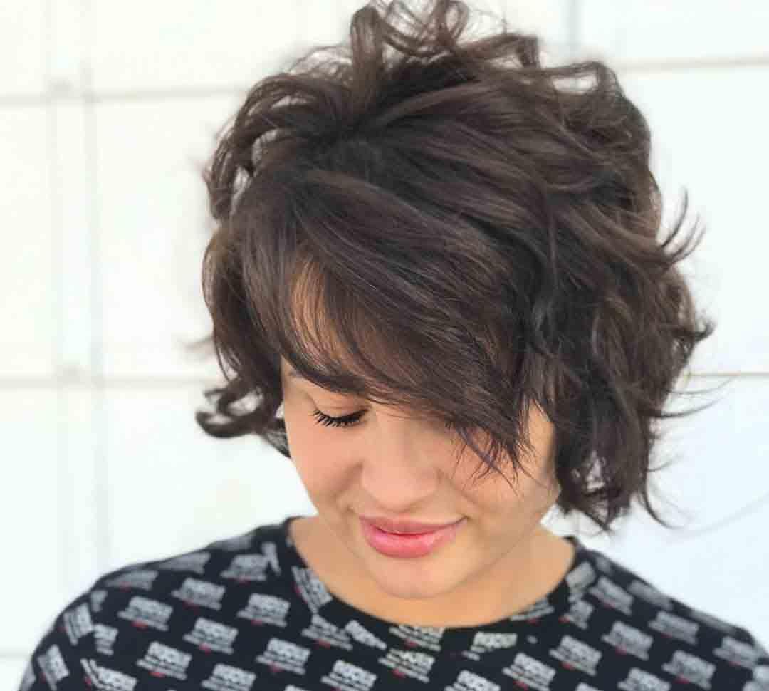 Стрижка женская модельная +на коротких волосах итальянка