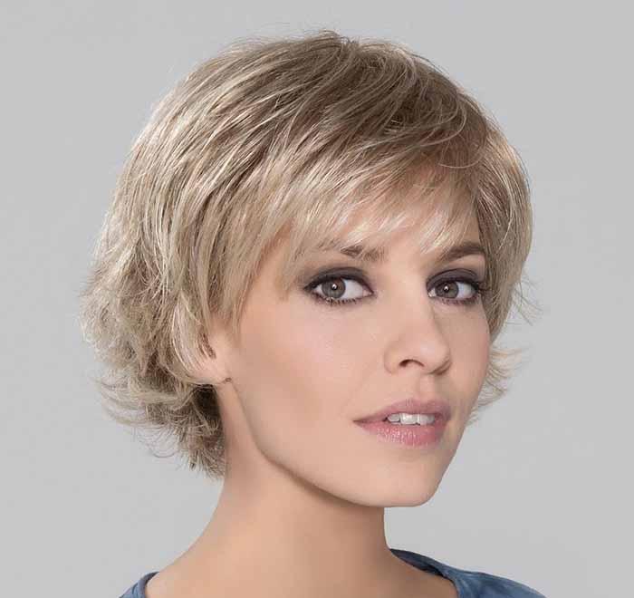 Стрижка Итальянка на короткие для блондинки