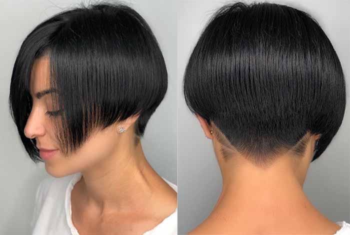 Стрижка пикси-боб на средние и короткие волосы