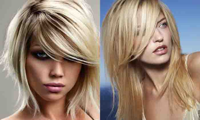 Стрижка шапочка для светлых волос