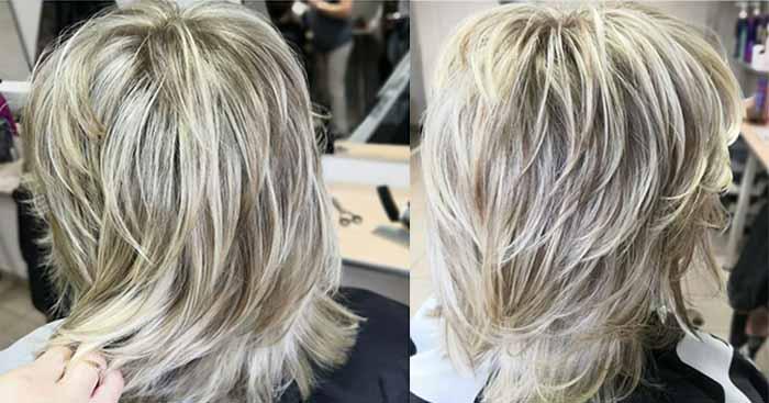 Стрижка каприз на средние волосы для тонких волос