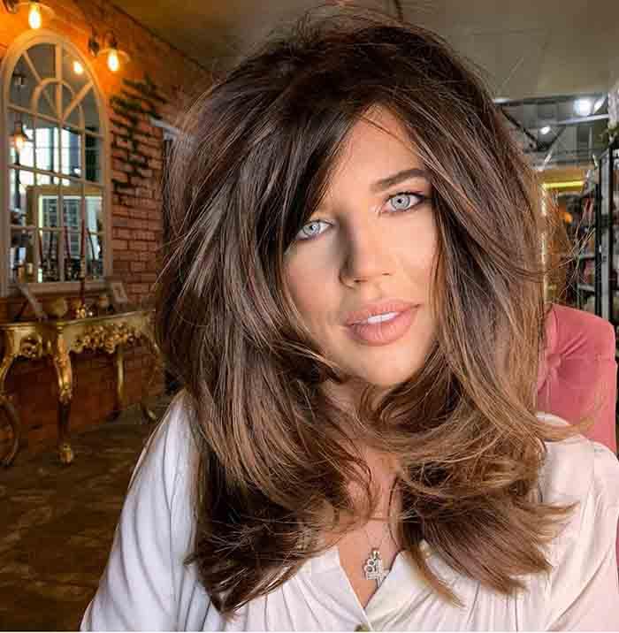 Колорирование на стрижку каприз на средние волосы волосы
