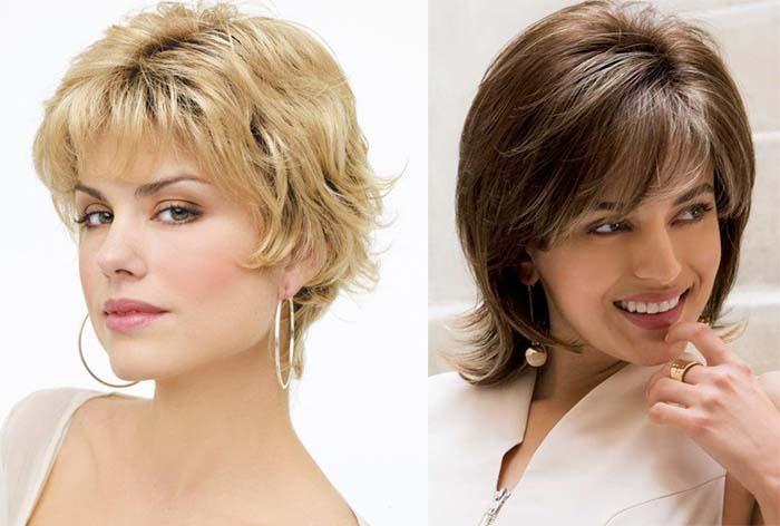 Женская стрижка каприз на средние волосы