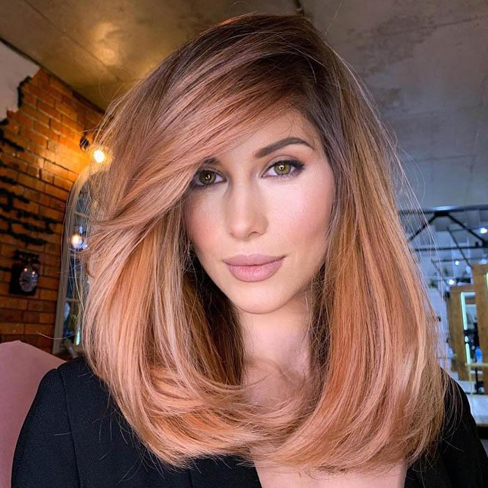 Стрижка на средние волосы для женщин после 35 лет