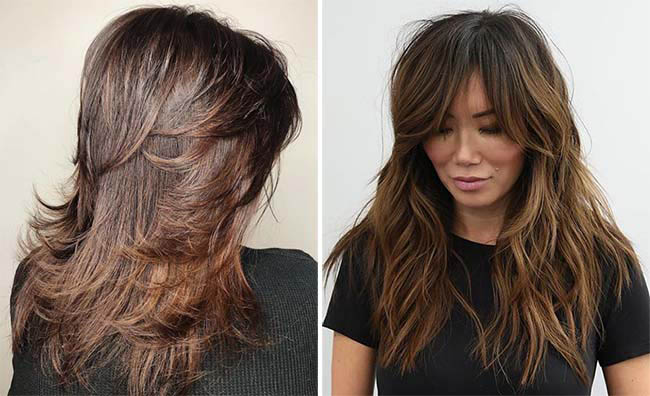 Аврора на длинные волосы